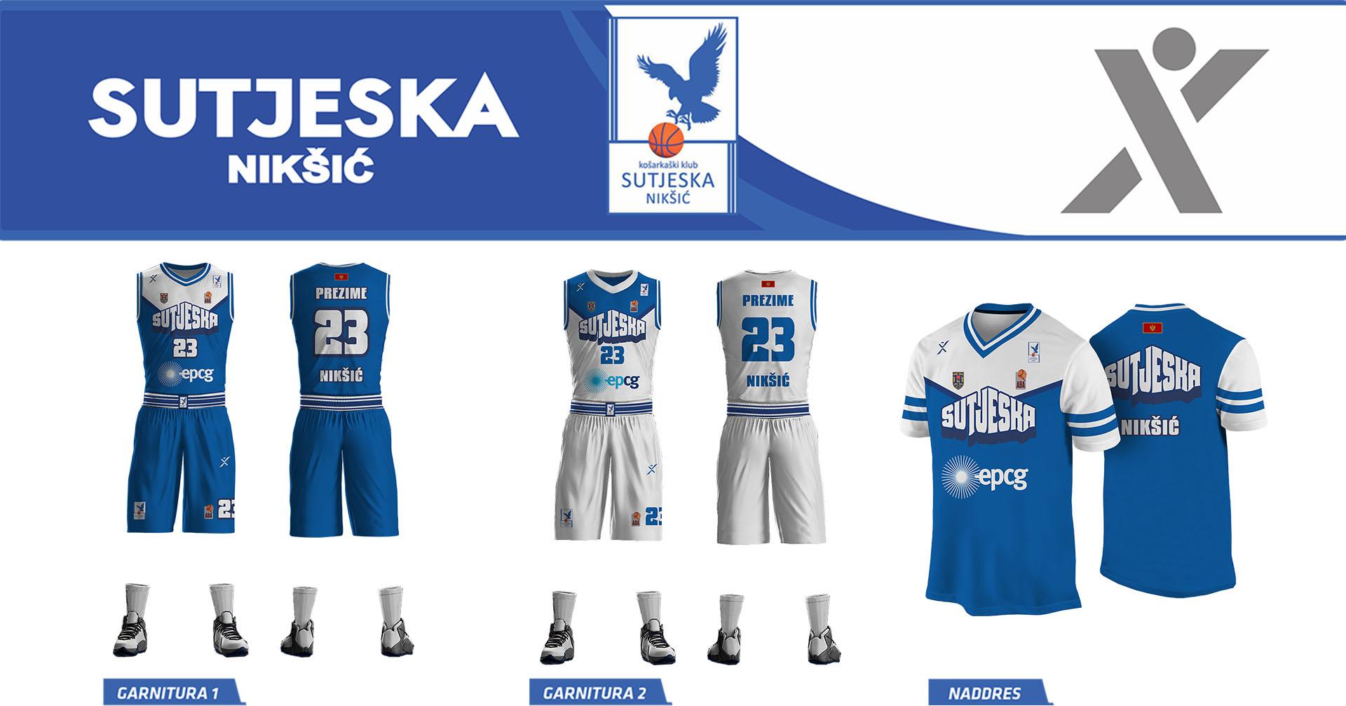 KK Sutjeska Niksic Header