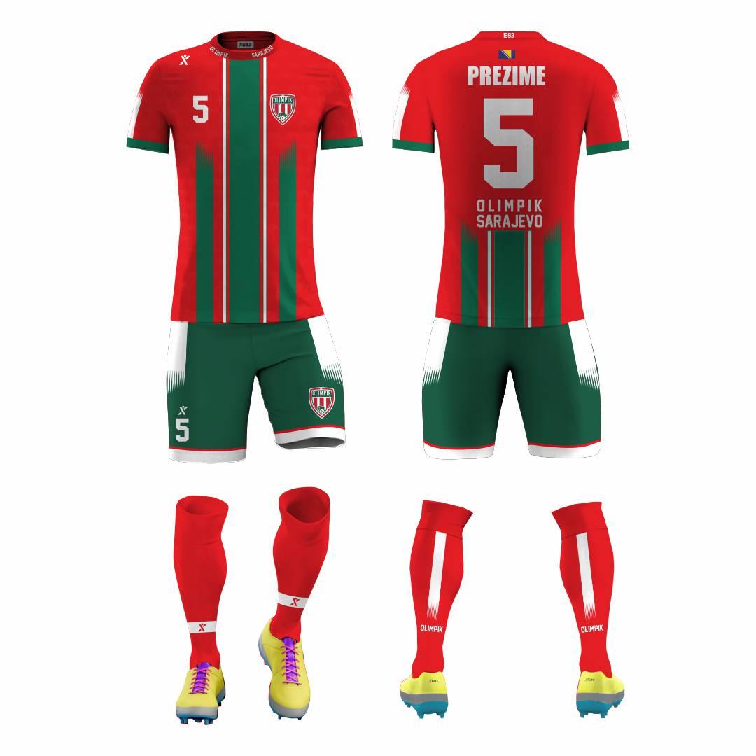 FK Olimpik Dres Šorc Sorc Fudbal